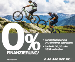 0%-Finanzierung Haibike